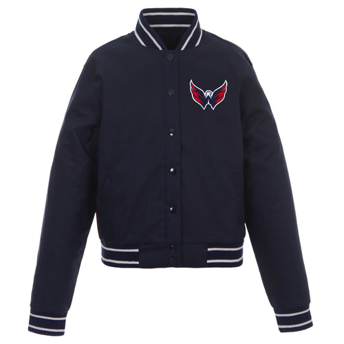 Washington Capitals Ladies Poly-Twill Jacket