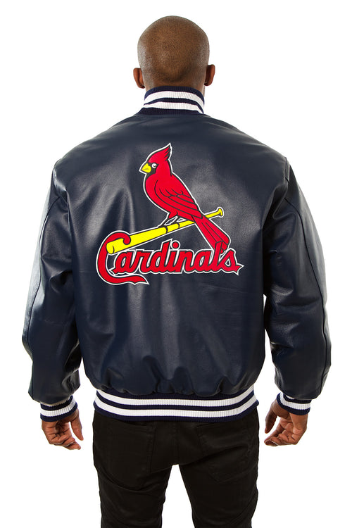St. Louis Cardinals Full Leather Jacket