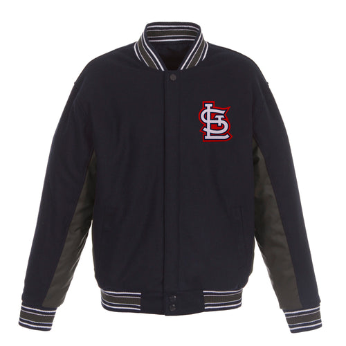 St. Louis Cardinals Reversible Wool Jacket