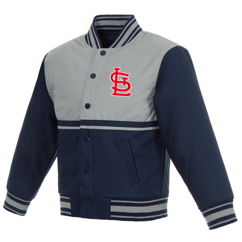 St. Louis Cardinals Kids Poly-Twill Jacket