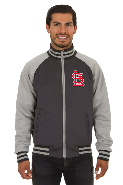 St. Louis Cardinals Reversible Polyester Track Jacket