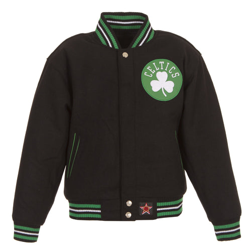 Boston Celtics Kid's Reversible Wool Jacket