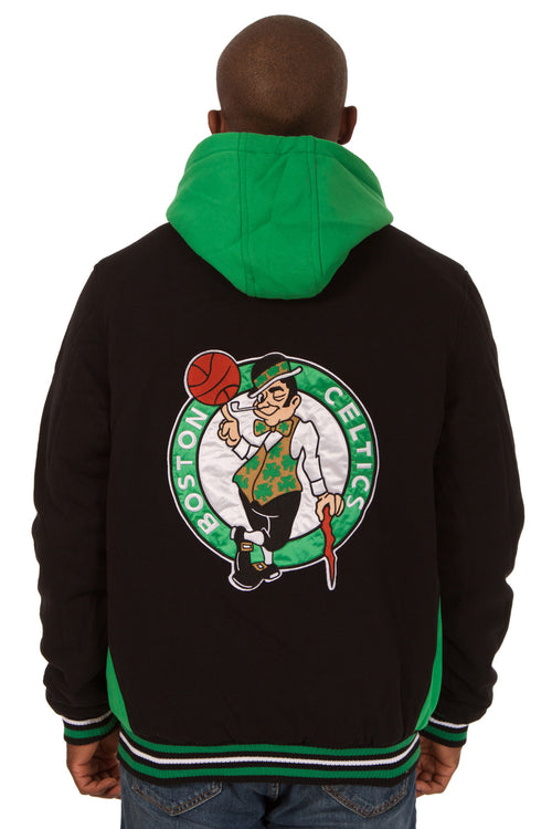 Boston Celtics Fleece Hooded Jacket