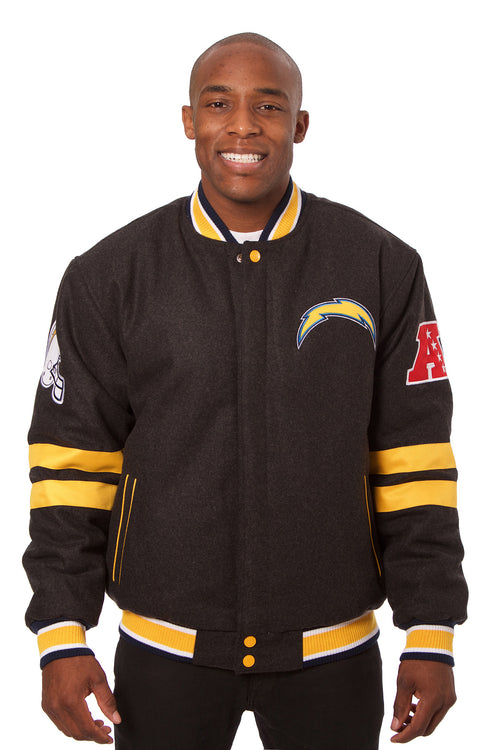 San Diego Chargers Reversible Wool Jacket