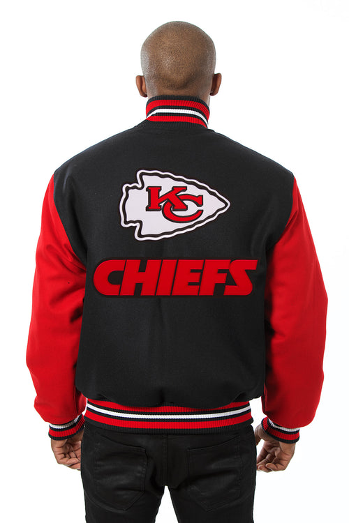 Kansas City Chiefs Embroidered Wool Jacket