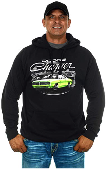 Charger Pull-Over Hooded Sweatshirt