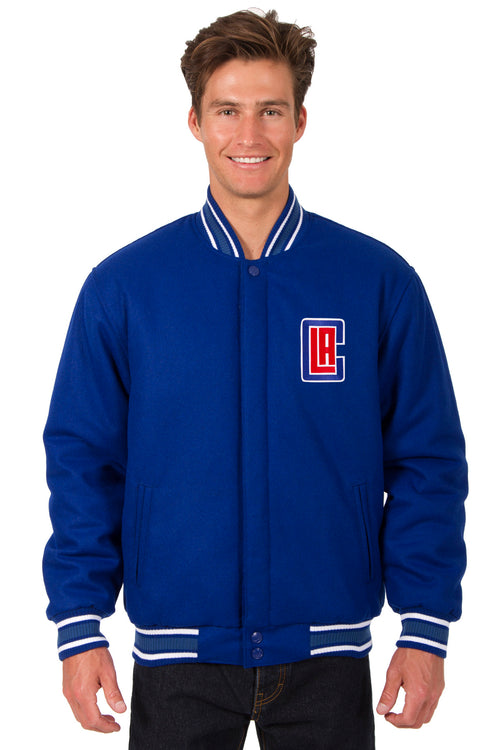 Los Angeles Clippers Reversible All-Wool Jacket