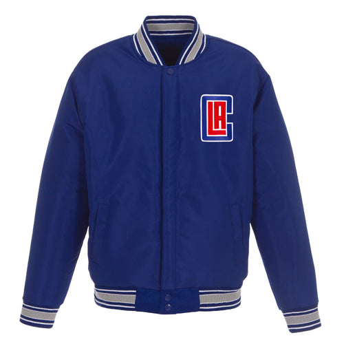 Los Angeles Clippers Reversible Wool Jacket (Front Logos Only)