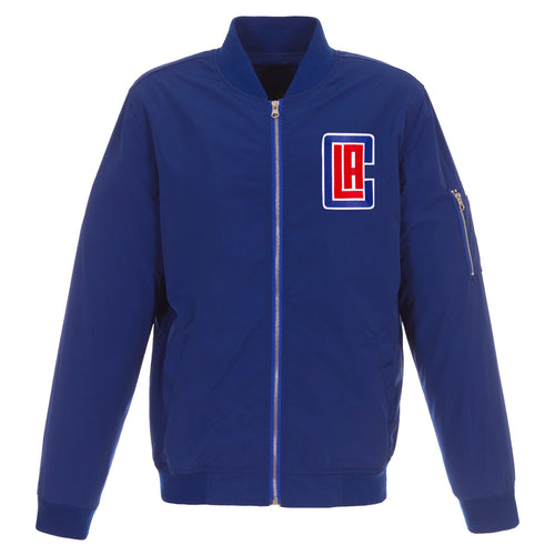 Los Angeles Clippers Nylon Bomber Jacket