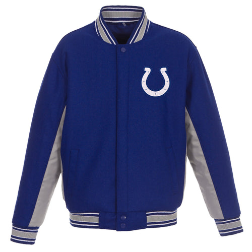 Indianapolis Colts Reversible Wool Jacket