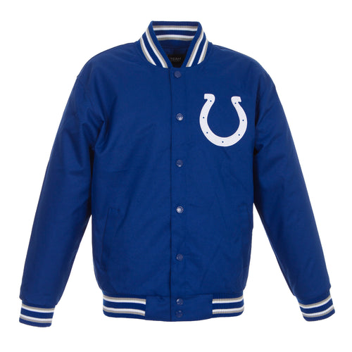 Indianapolis Colts Poly-Twill Jacket