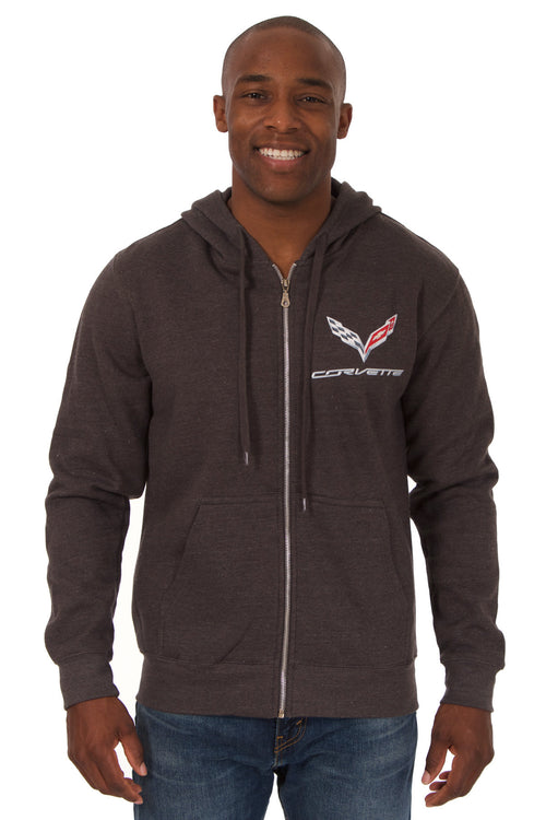 Corvette Zip-Up Sweatshirt