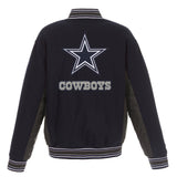 Dallas Cowboys All-Wool Reversible Jacket