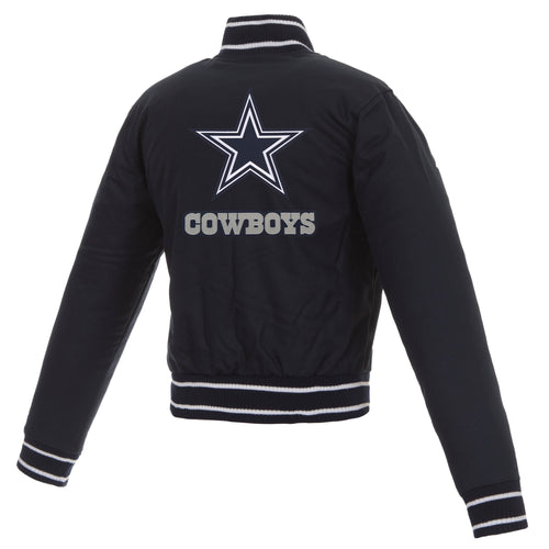 Dallas Cowboys Ladies Poly-Twill Jacket
