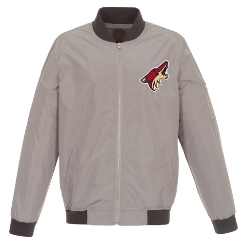 Arizona Coyotes Nylon Bomber Jacket
