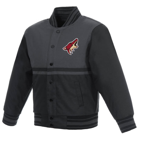 Arizona Coyotes Kids Poly-Twill Jacket