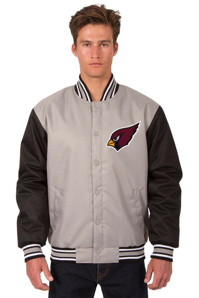 Arizona Cardinals Poly-Twill Jacket (Front Logo Only)