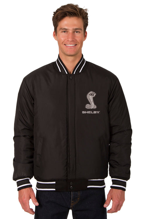 Shelby Cobra All-Wool Reversible Jacket(Front Logo Only)