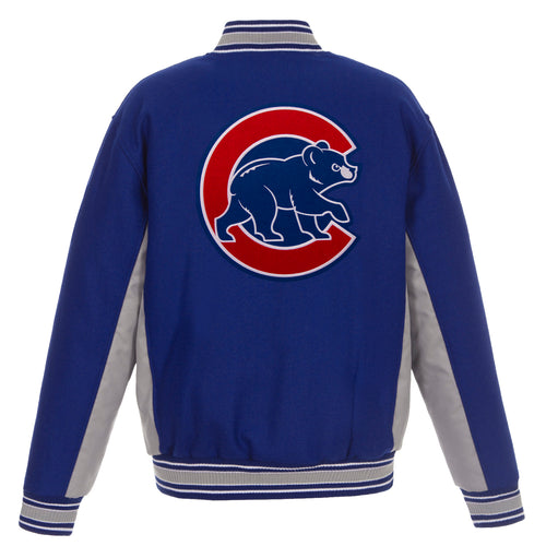 Chicago Cubs Reversible Wool Jacket