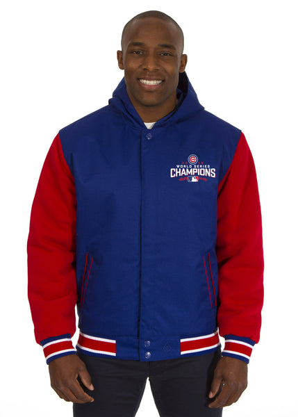 Chicago Cubs Championship Reversible Poly-Twill Jacket