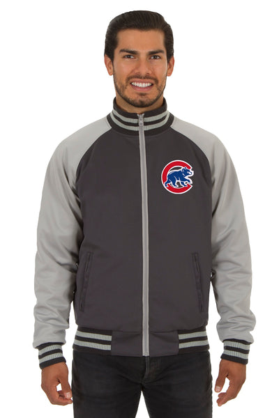 Chicago Cubs Reversible Polyester Track Jacket