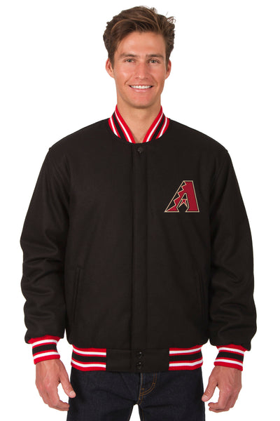 Arizona Diamondbacks All-Wool Reversible Jacket