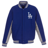 Los Angeles Dodgers Reversible Wool Jacket