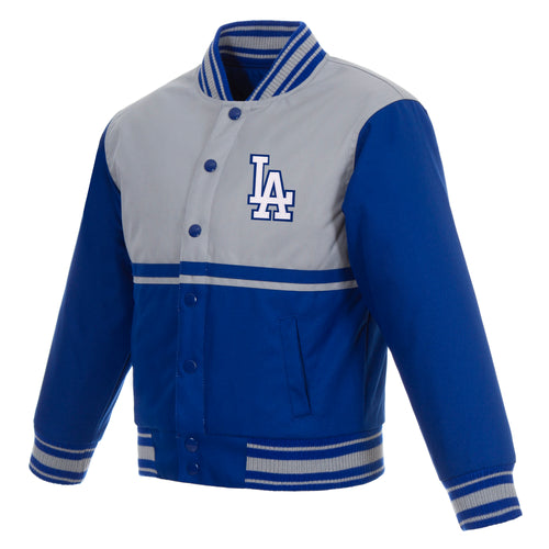 Los Angeles Dodgers Kids Poly-Twill Jacket