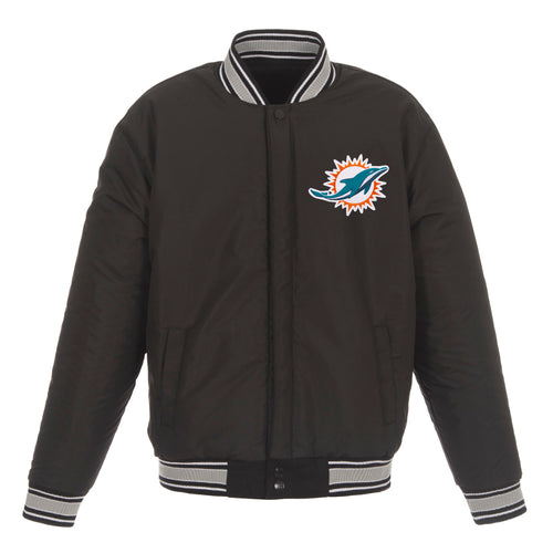 Miami Dolphins Reversible Wool Jacket