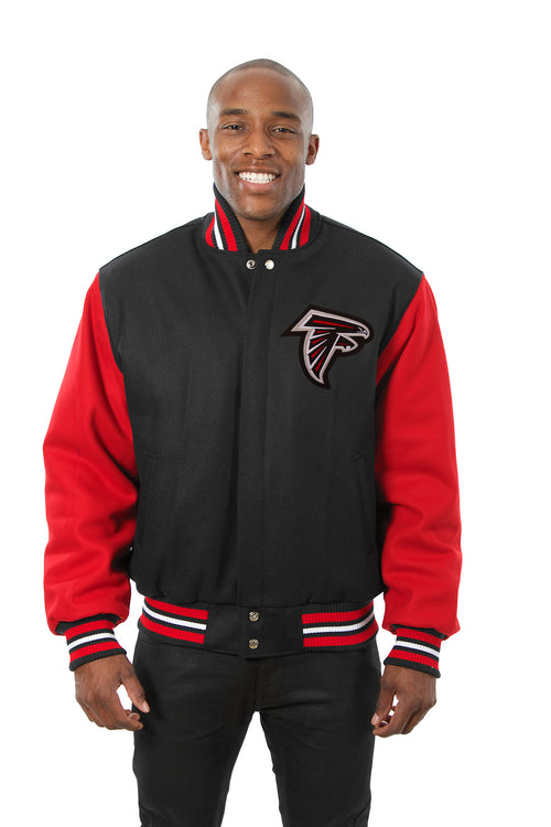 Atlanta Falcons Embroidered Wool Jacket