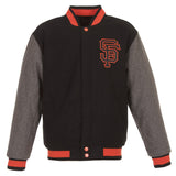 San Francisco Giants Reversible Melton Jacket