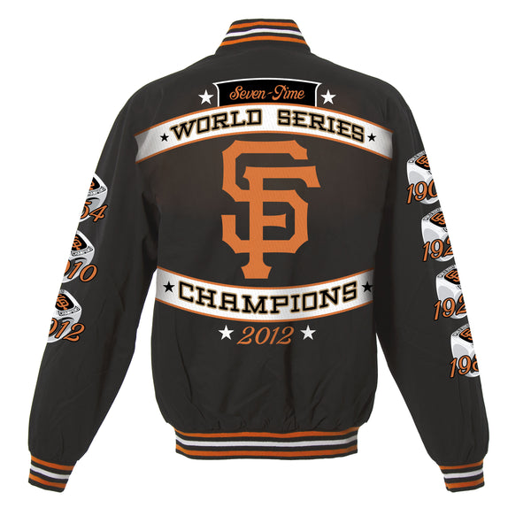 San Francisco Giants Kid's Lightweight World Series Twill Jacket