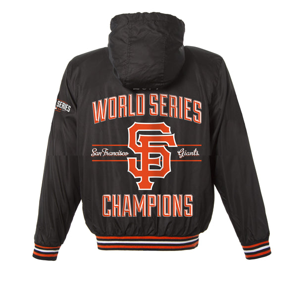 San Francisco Giants Kid's World Series Ripstop Nylon Jacket