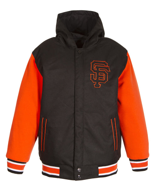 San Francisco Giants Reversible Poly-Twill Jacket