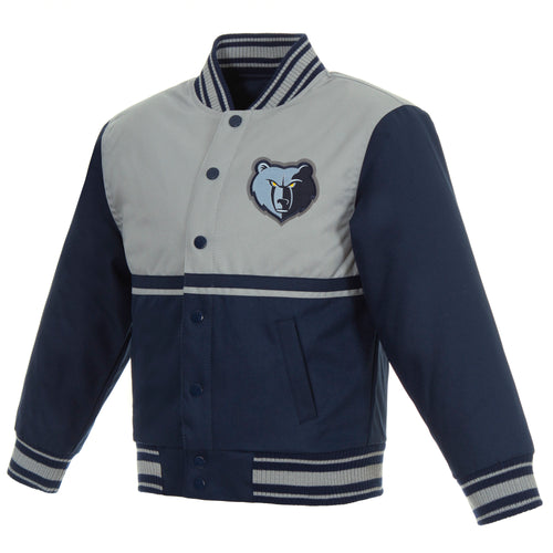 Memphis Grizzlies Kids Poly-Twill Jacket