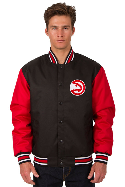 Atlanta Hawks Poly-Twill Jacket