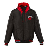 Miami Heat Reversible Fleece Jacket