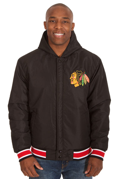 Chicago Blackhawks Reversible Poly-Twill Jacket