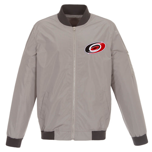 Carolina Hurricanes Nylon Bomber Jacket