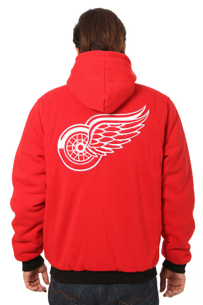 Detroit Red Wings Reversible Fleece Jacket