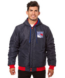 New York Rangers Reversible Fleece Jacket