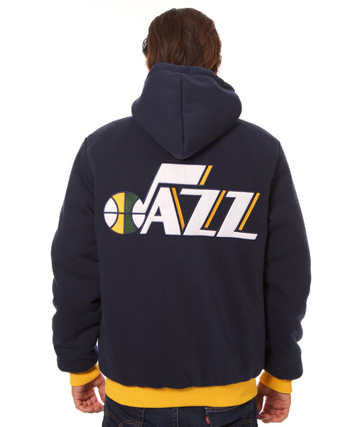 Utah Jazz Reversible Fleece Jacket