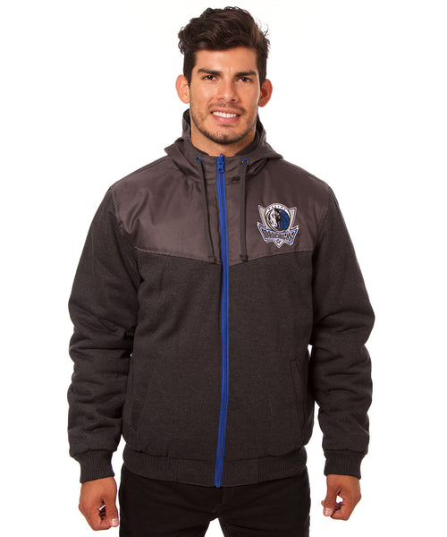 Dallas Mavericks Reversible Fleece Jacket