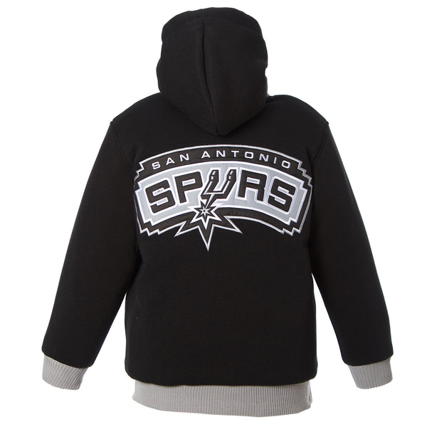 San Antonio Spurs Kid's Reversible Fleece Jacket