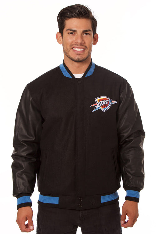 Oklahoma City Thunder Reversible Melton Jacket