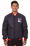 New York Rangers Reversible Poly-Melton Jacket