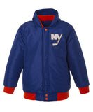 New York Islanders Kid's Reversible Fleece Jacket