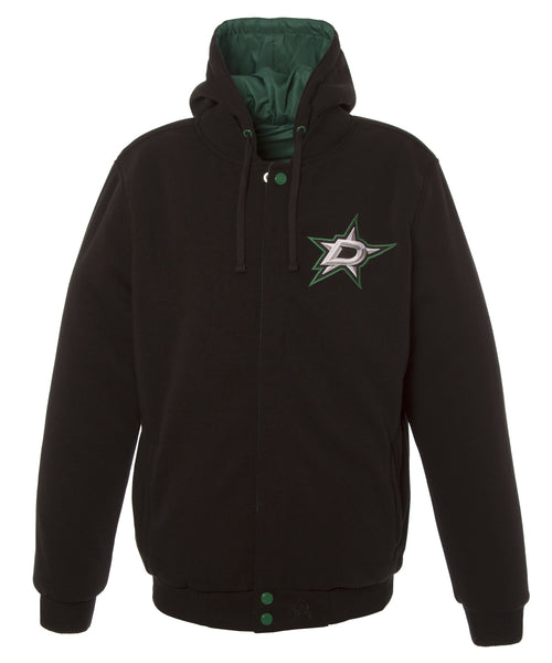 Dallas Stars Kids Reversible Fleece Jacket