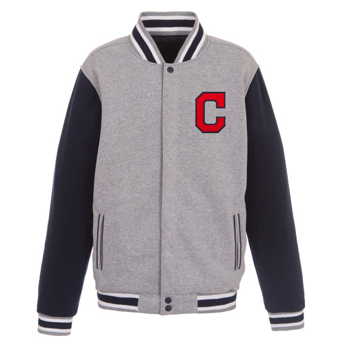 Cleveland Indians Reversible Fleece Jacket