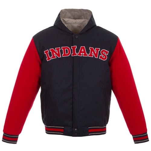 Cleveland Indians Reversible Poly-Twill Jacket